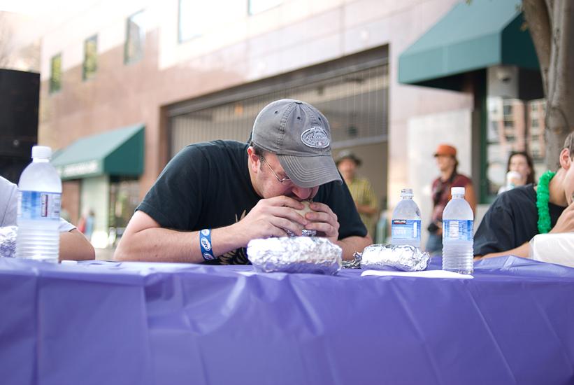 Clarendon Day eating contest - Arlington, Virginia