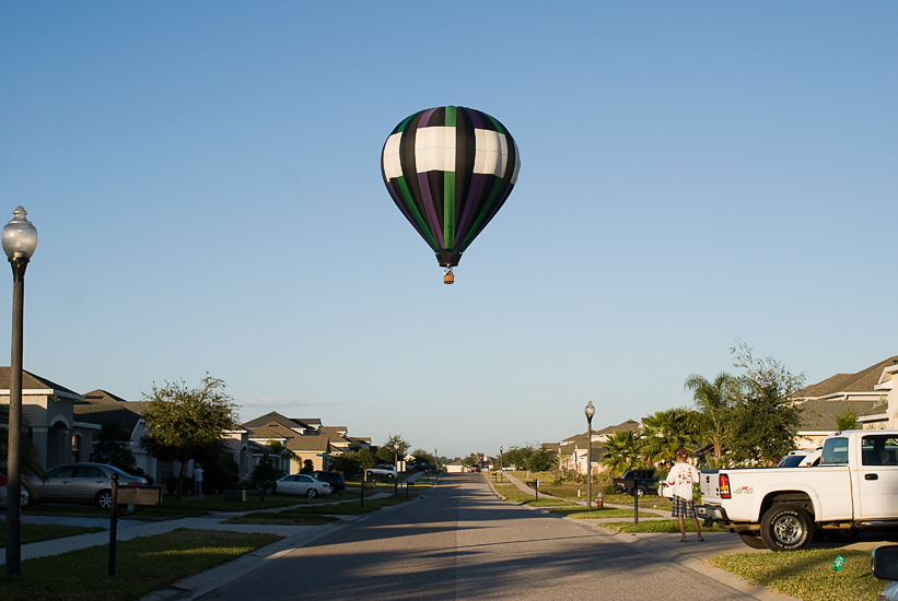 hot air balloon in orlando, florida