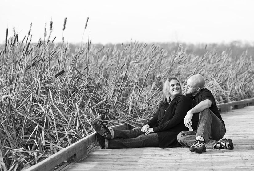 couple portraits in alexandria va huntley meadows park