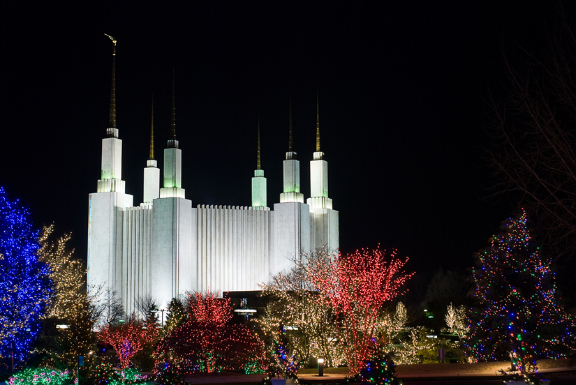 mormon temple in washington, dc