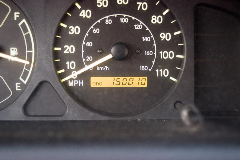 150,000 miles on my car