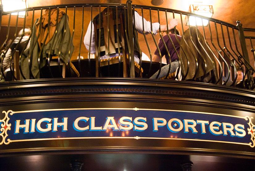 high class porters