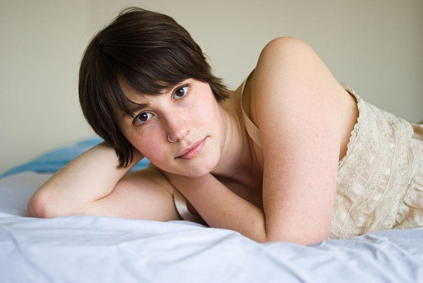 Arlington boudoir photographer Amber Wilkie