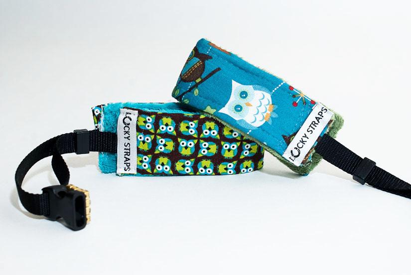 owl camera wrist straps