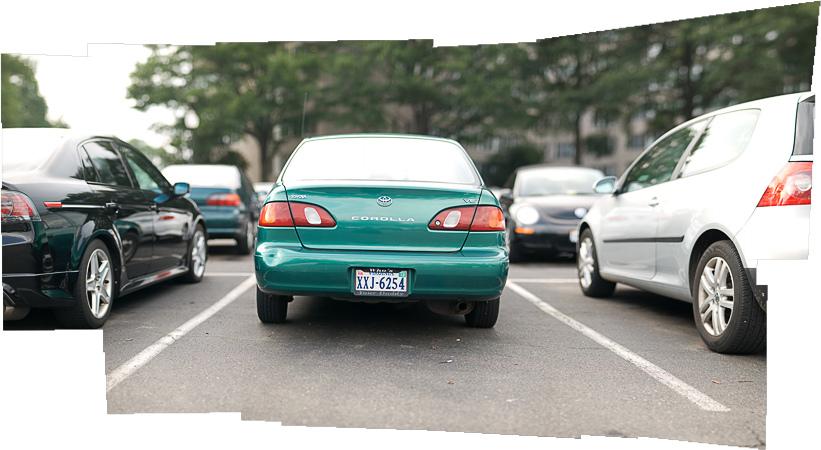 brenizer method car
