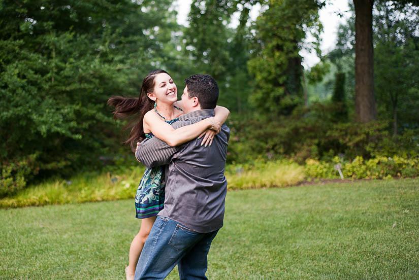 couple having fun in wheaton, md