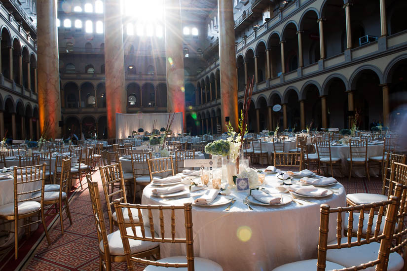 National Building Museum wedding photographer Amber Wilkie