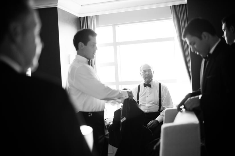 groomsmen at reston hyatt