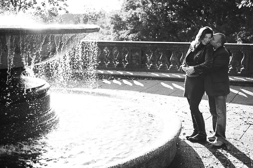 engagement photography at meridian hill park