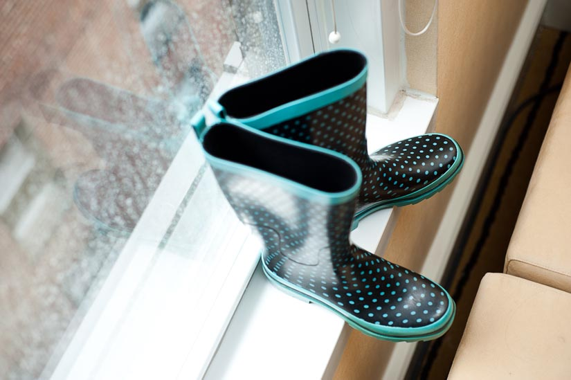 wedding rain boots