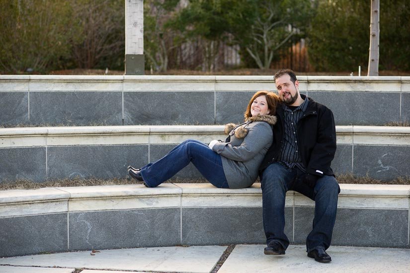engagement photography at the u.s. botanic gardens