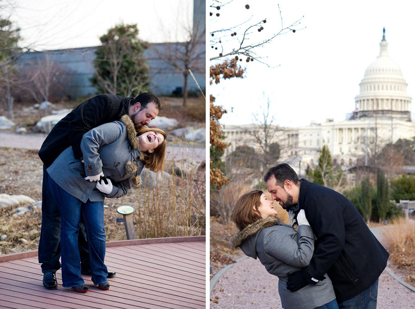 capitol hill engagement photography