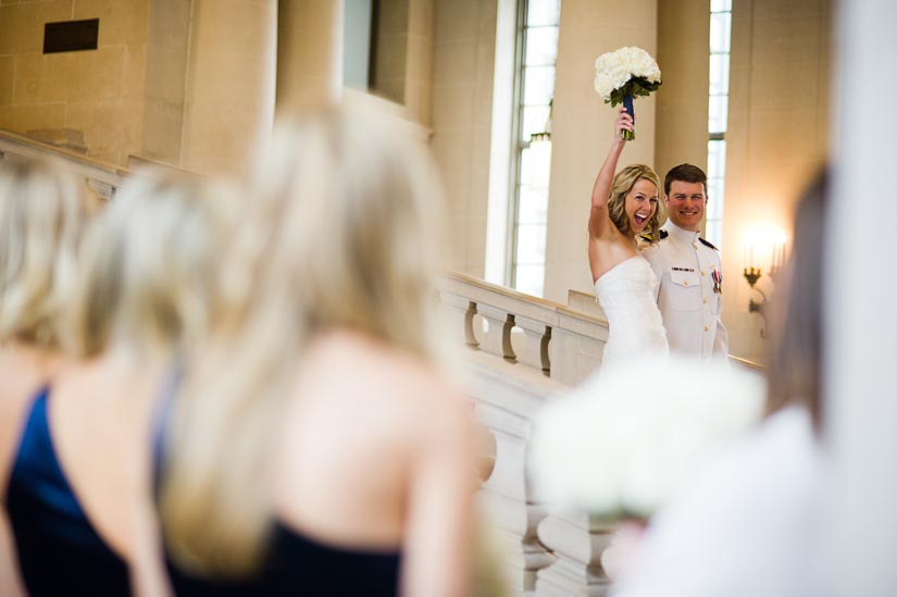 U.S. Naval Academy wedding