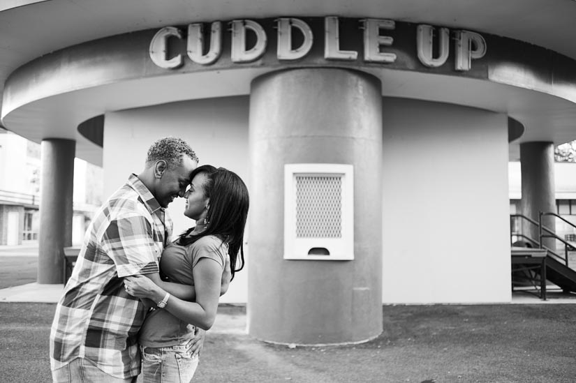 engagement session at glen echo park
