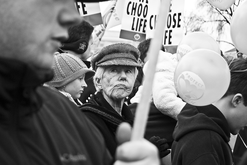 washington dc rally street photography