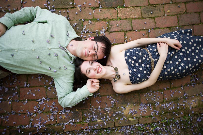 dumbarton oaks engagement photography