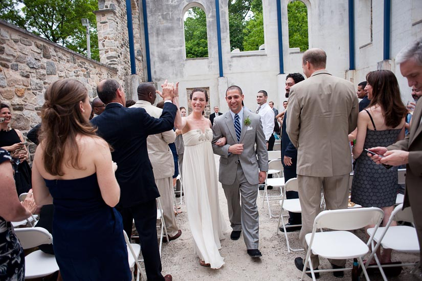 wedding ceremony in ellicott city