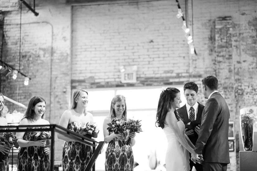 wedding at the corradetti glass factory