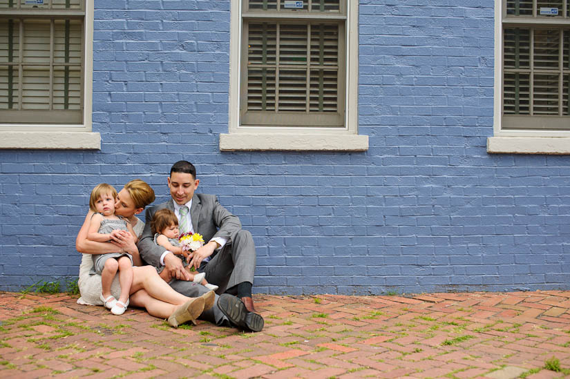 alexandria, virginia wedding portrait