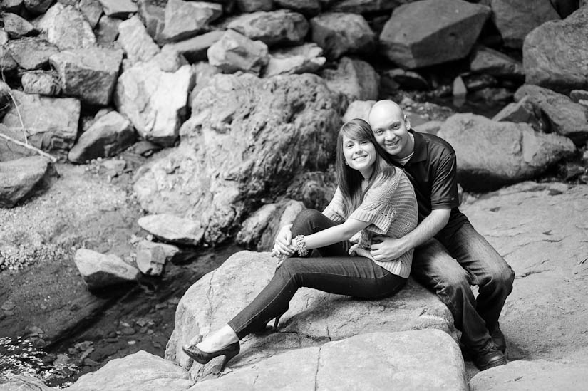 engagement photography at glen echo park