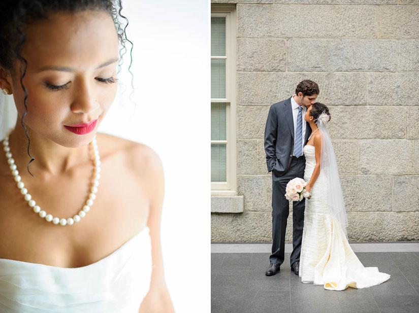 bride and groom portraits in washington dc