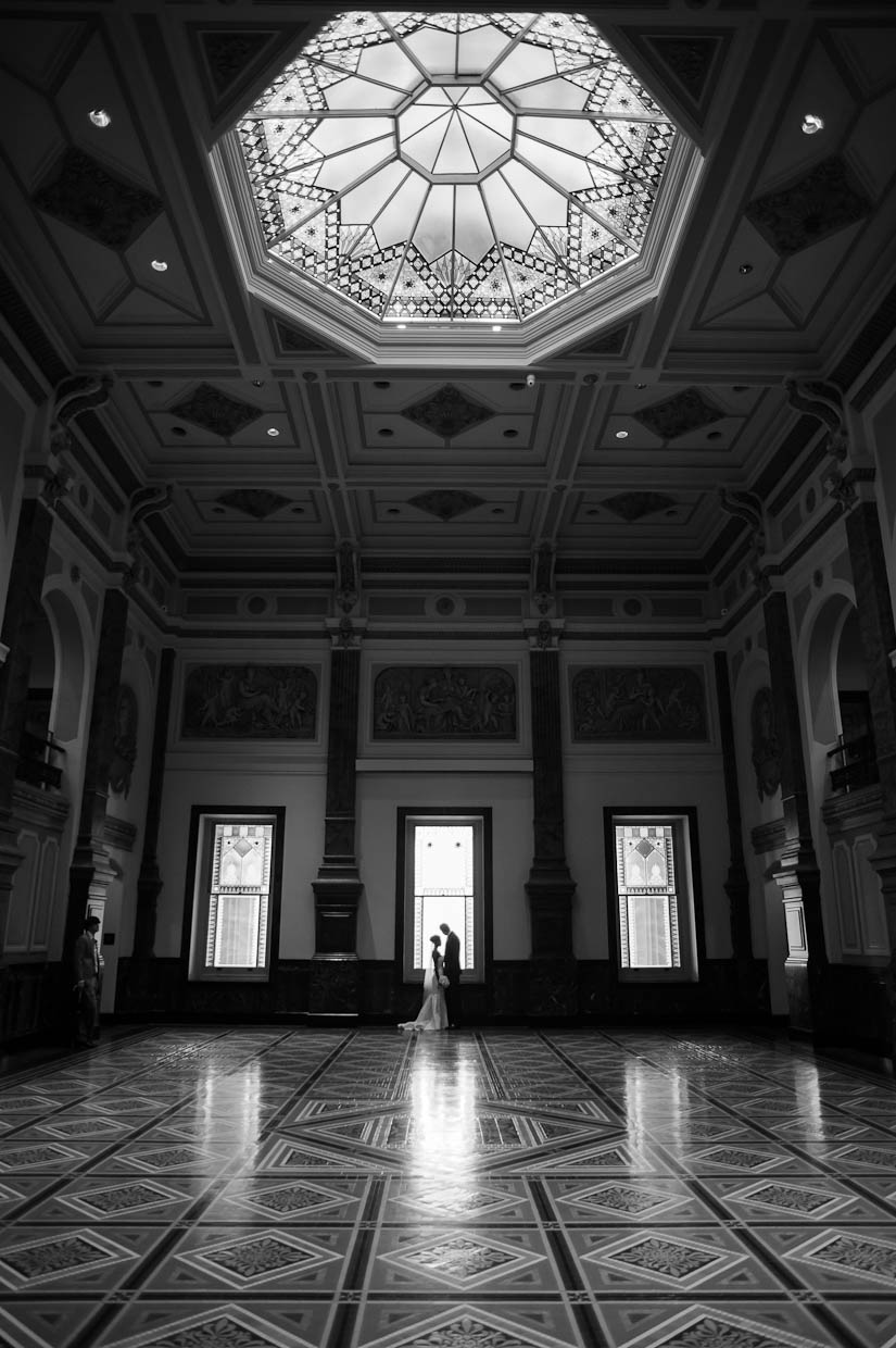 wedding portraits at the national portrait gallery