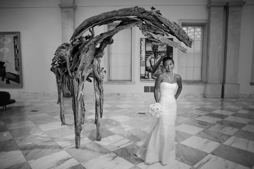 bridal portraits at the smithsonian american art museum