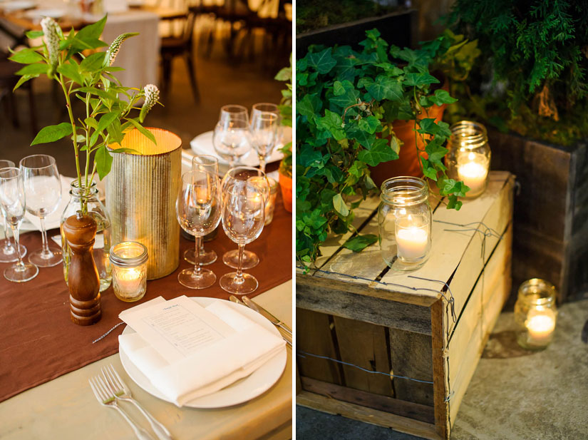 wedding decor by amarylis and ritzy bee
