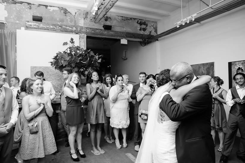 father of the bride dance in washington, dc wedding reception