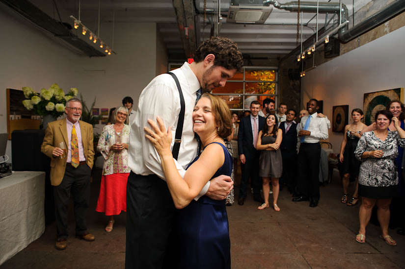 mother of the groom dance at longview gallery wedding
