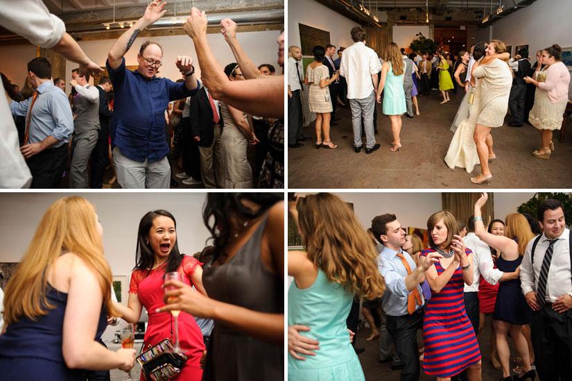 longview gallery wedding dance party