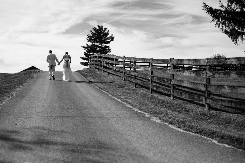 bride and groom at marriott ranch wedding