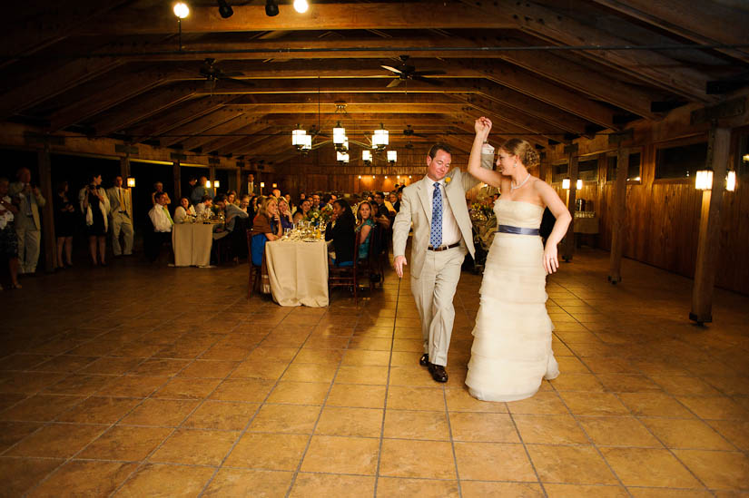 first dance at marriott ranch wedding