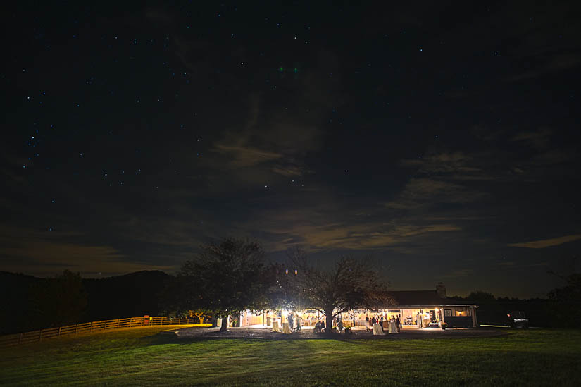 epic reception shot at marriott ranch wedding