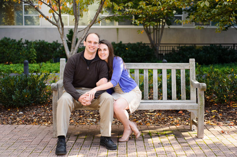 GW engagement session in washington dc