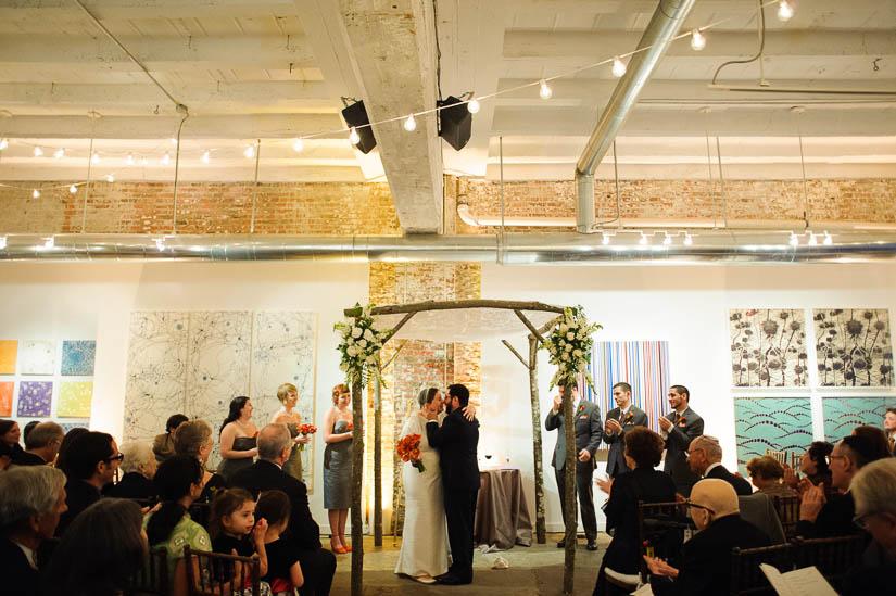 happy announcement at washington dc jewish wedding