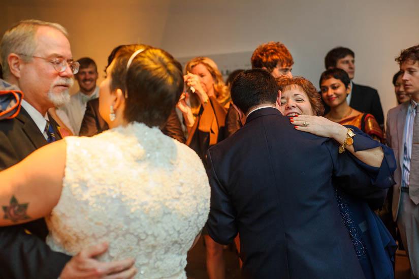 parents dances at longview gallery wedding in dc