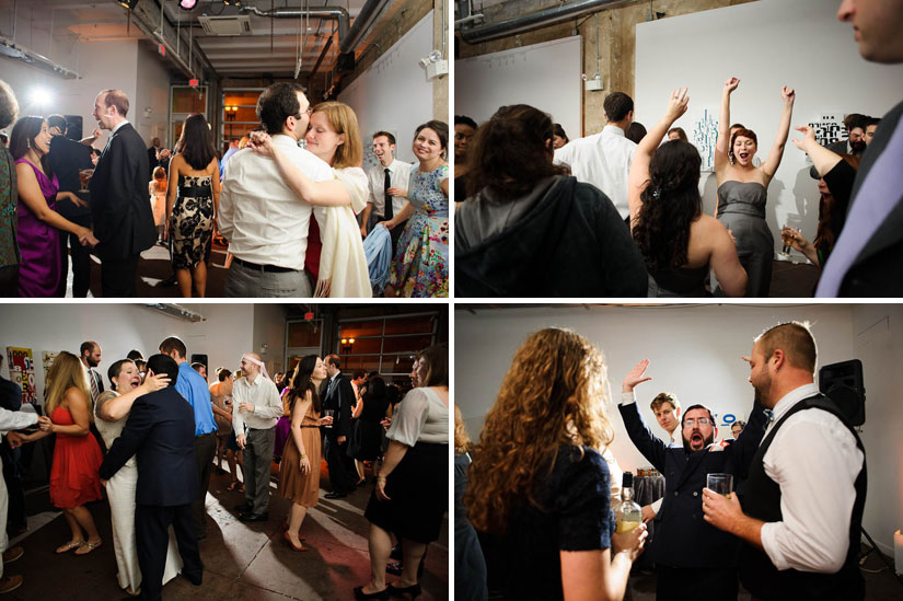 dancing at the wedding at longview gallery in dc