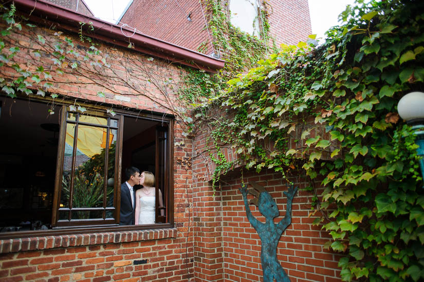 wedding photo shoot at tabard inn, washington dc