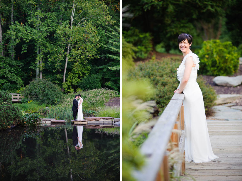 wedding photography at brookside gardens