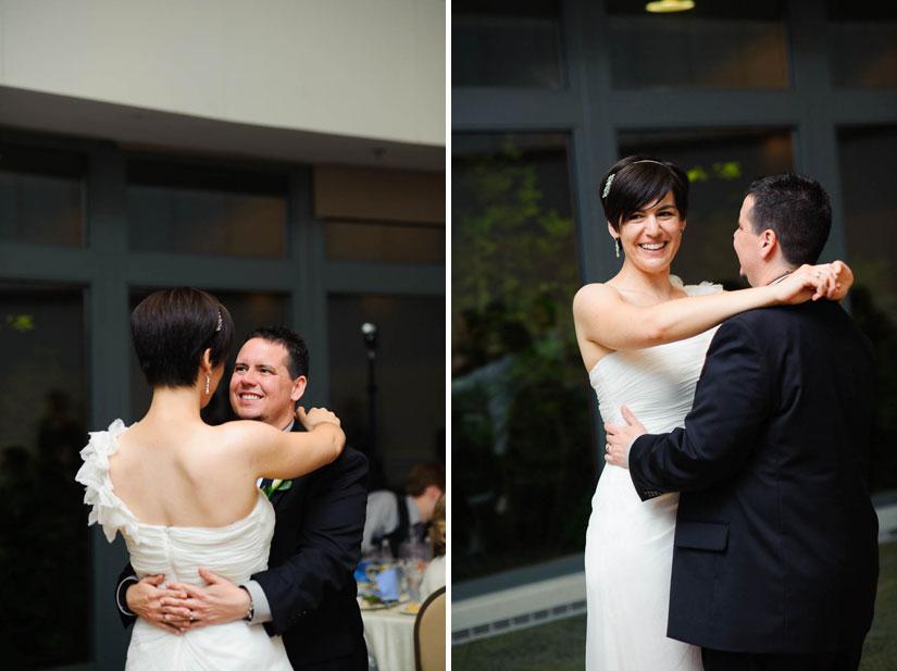 first dance at brookside gardens wedding