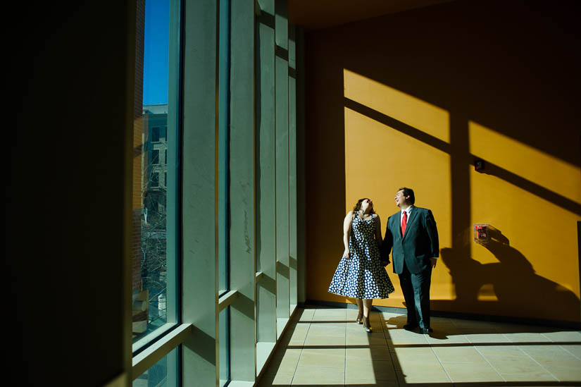 library wedding photography by amber wilkie