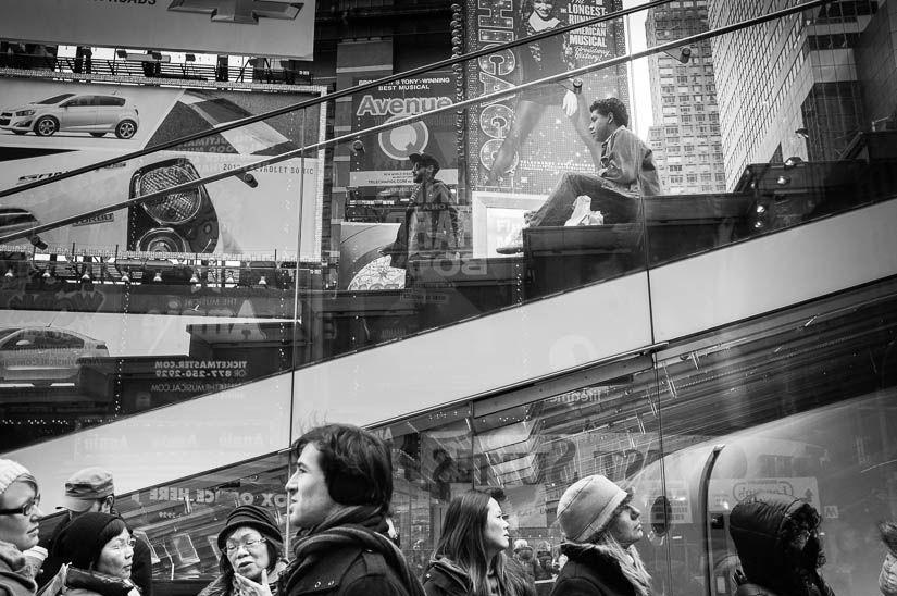 times square street photography
