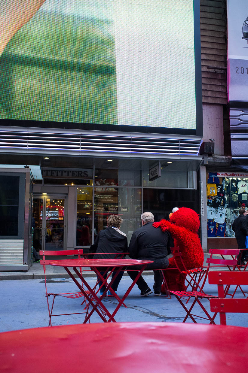 elmo street photography in nyc