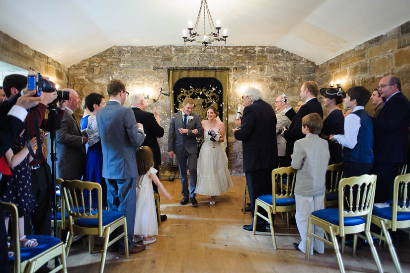 danby castle wedding recessional