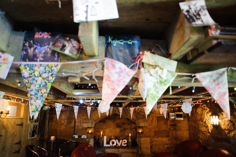 love with pennant decorations