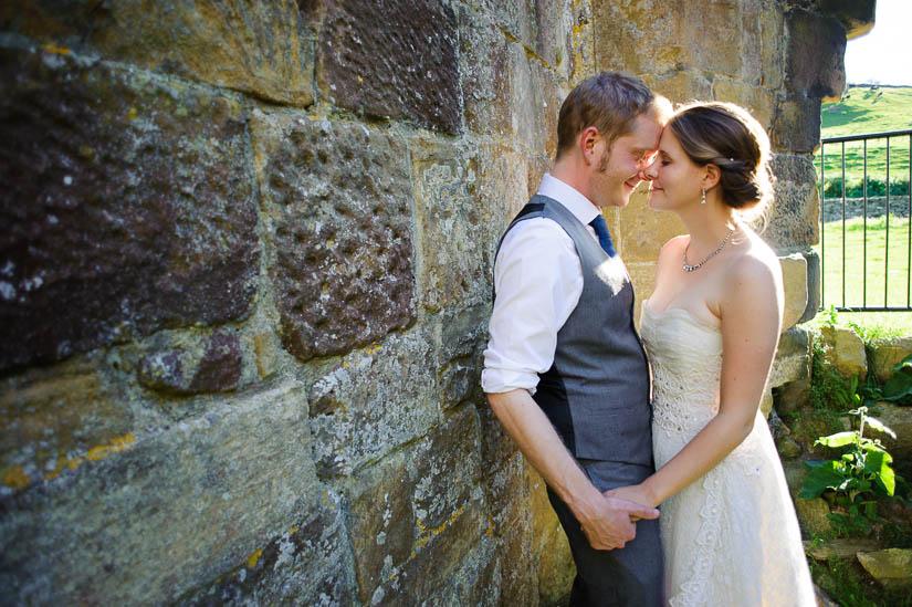 wedding portraits at danby castle
