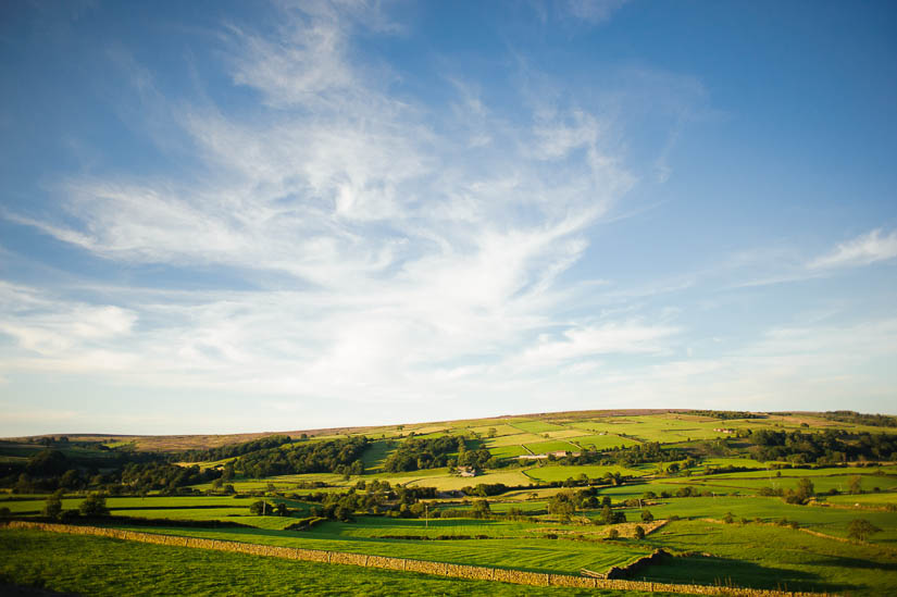 landscape photo of the english countryside