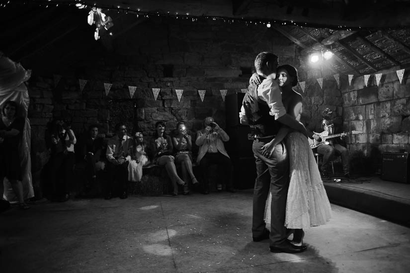 first dance with her hand on his butt at danby castle wedding