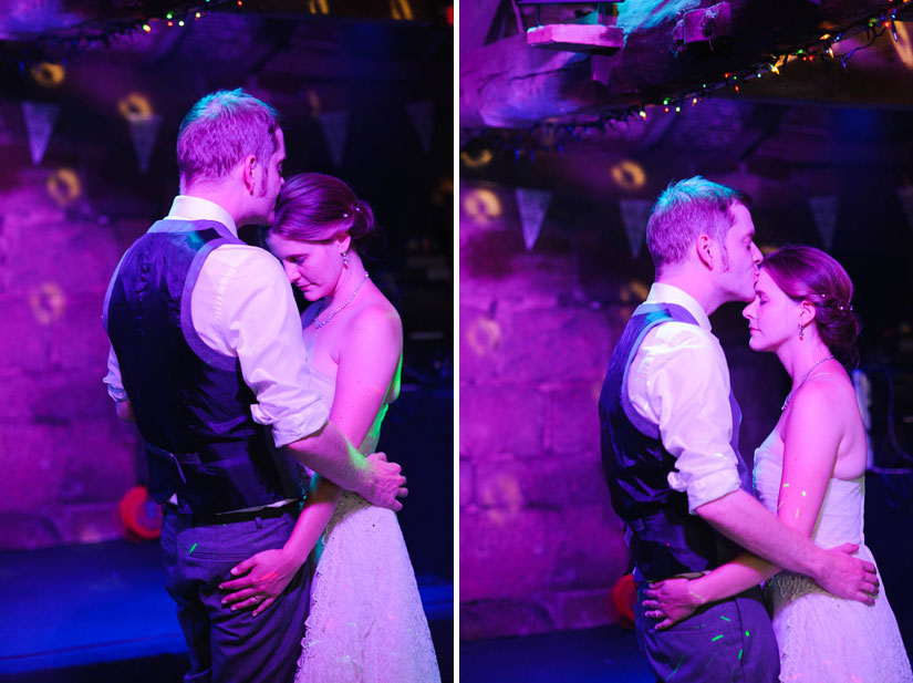 first dance photographs from danby castle wedding